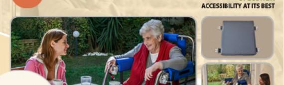 Indoor wheelchair